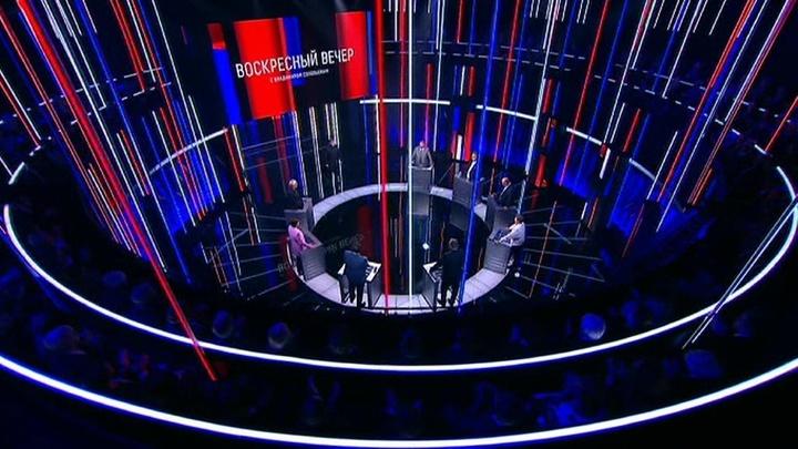 Вечер с Владимиром Соловьевым. Эфир от 29 июля 2019 года