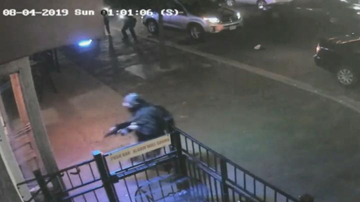 Появилось видео устранения стрелка из Огайо