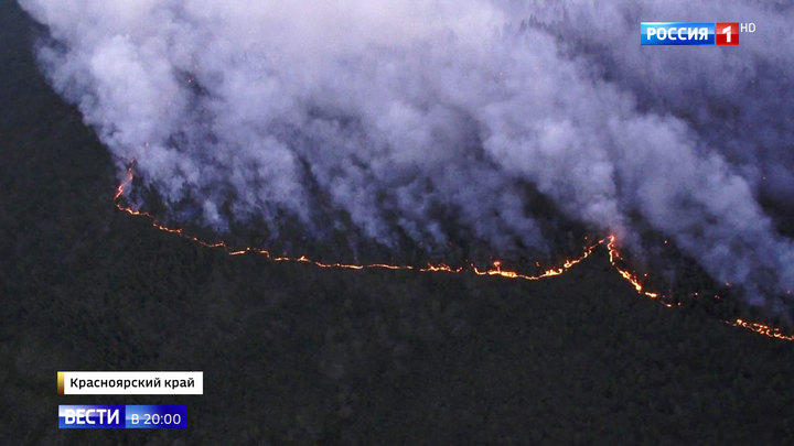 В одном месте огонь, в другом вода: горящая тайга повлияла на паводок