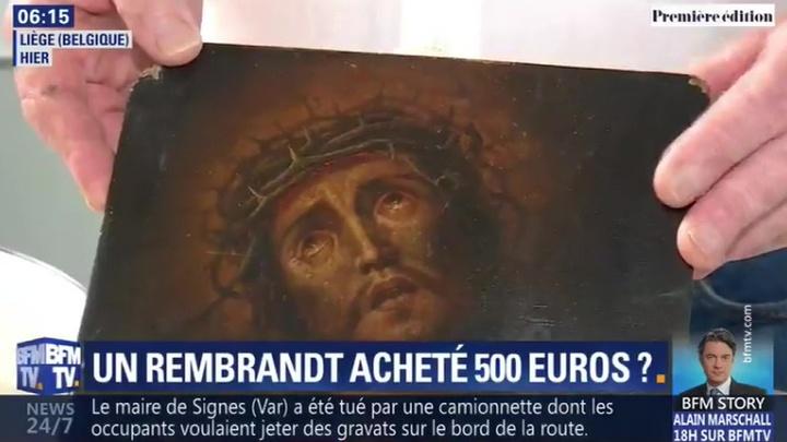 """Бельгиец """"выручил"""" должника, купив у него подлинного Рембрандта за 500 евро"""