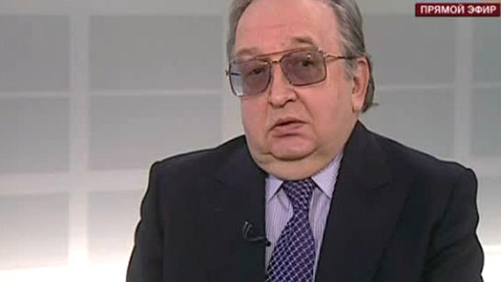 бывший посол России в Японии Александр Панов