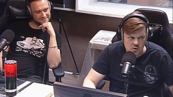 Встреча в студии с Яном Николенко и Виктором Санковым