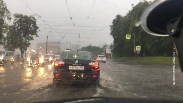 """""""Погода 24"""": Минск, Вильнюс и Киев утонули после ливней"""