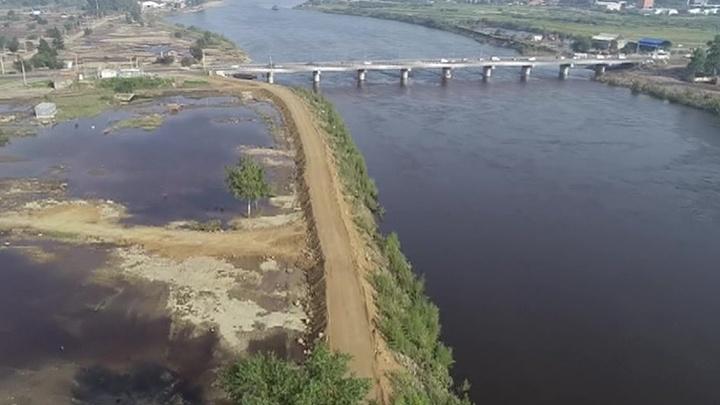 Подъем уровня воды в реке Ия в районе Тулуна прогнозируется выше критического