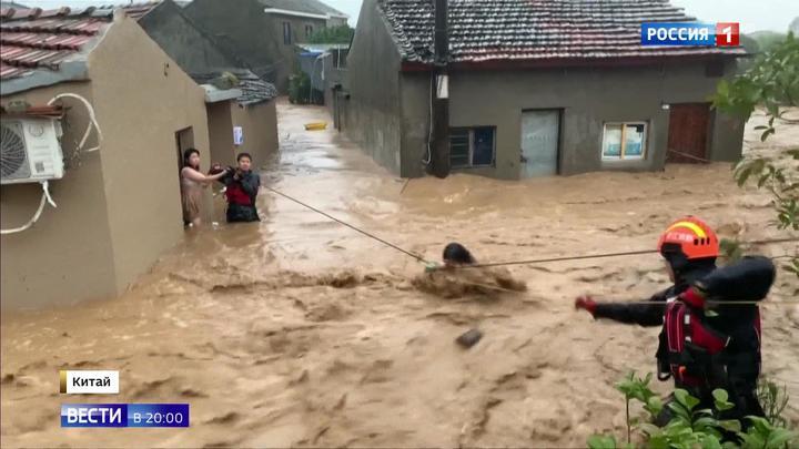 Страшный тайфун в Китае: десятки погибших и неизвестное число пропавших