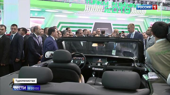 """""""Аурус"""" идет на восток: Туркмения закупит всю линейку российских представительских автомобилей."""