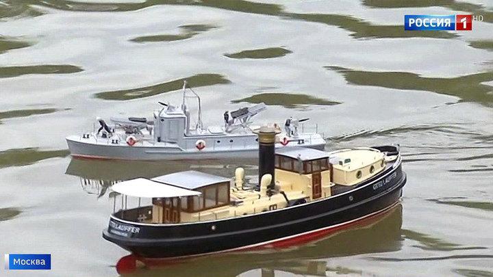 Морские баталии на ВДНХ: спортсмены-судомоделисты сражаются за кубок 80-летия выставки