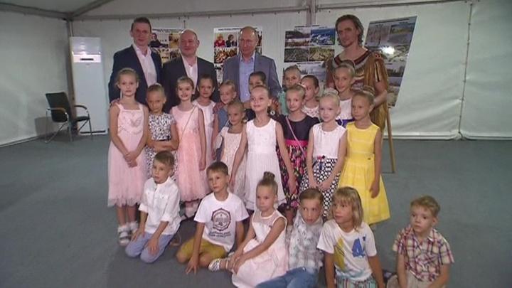 Путин побывал в Херсонесе на открытии Международного фестиваля оперы и балета