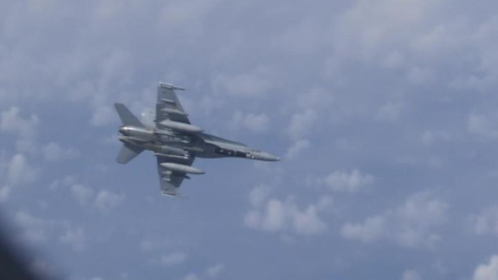 Истребитель, преследовавший самолет Шойгу, принадлежит ВВС Испании