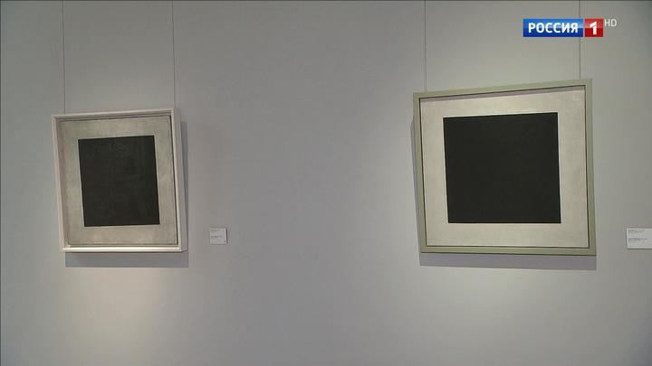 """Два """"Черных квадрата"""" сразу: Третьяковская галерея открыла обновленную экспозицию на Крымском Валу"""
