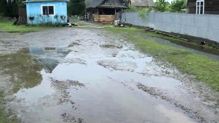 """В Приморье тайфун """"Кроса"""" принес более 70% месячной нормы осадков"""