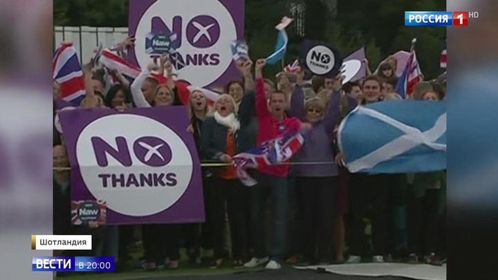Жесткий Brexit заставил шотландцев снова задуматься о независимости