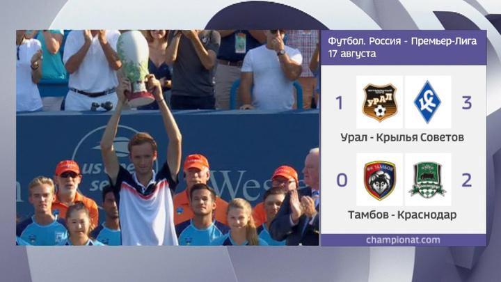 Теннис. Даниил Медведев выиграл турнир серии Masters