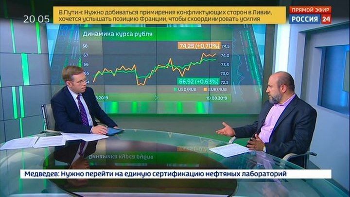 Экономика. Курс дня, 19 августа 2019 года