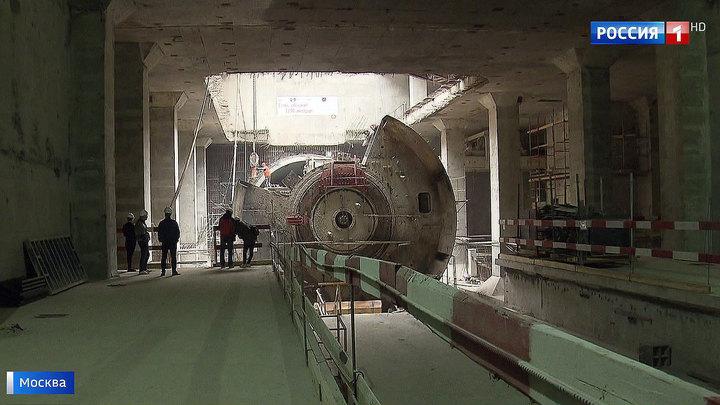"""Строители завершили проходку тоннеля до станции """"Нижегородская"""""""
