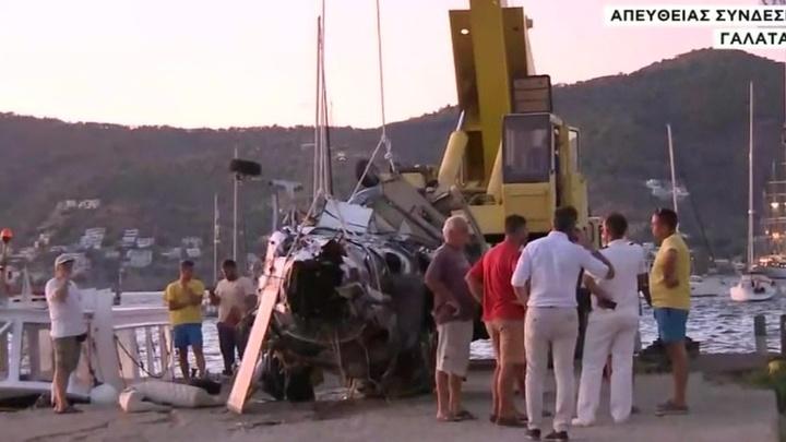 Крушение вертолета в Греции: погиб основатель Музея русской иконы