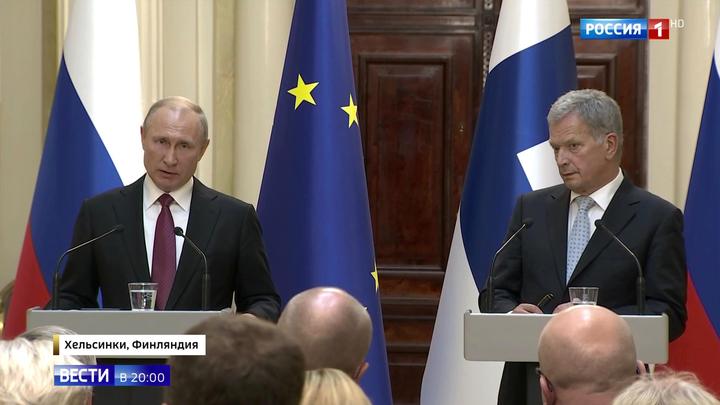 """Путин: в Европе могут появиться американские """"Томагавки"""""""
