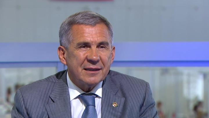 Путин поддержит выдвижение Минниханова на выборы главы Татарстана