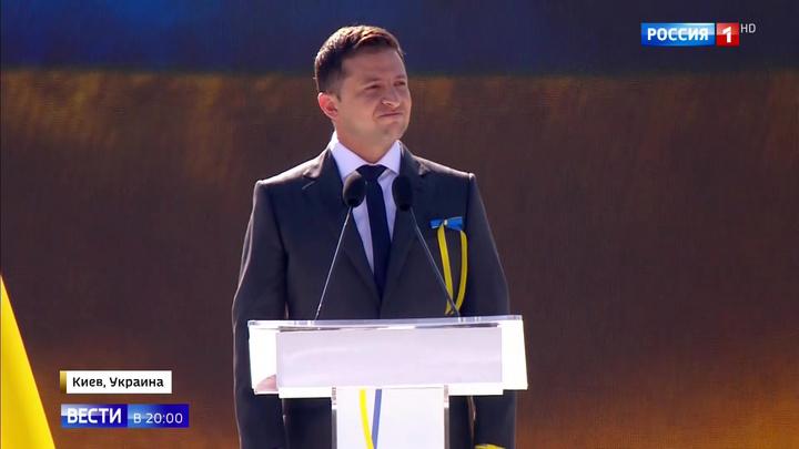 """Праздничная речь: Зеленский рассказал украинцам о """"Макдоналдсе"""" и Армагеддоне"""