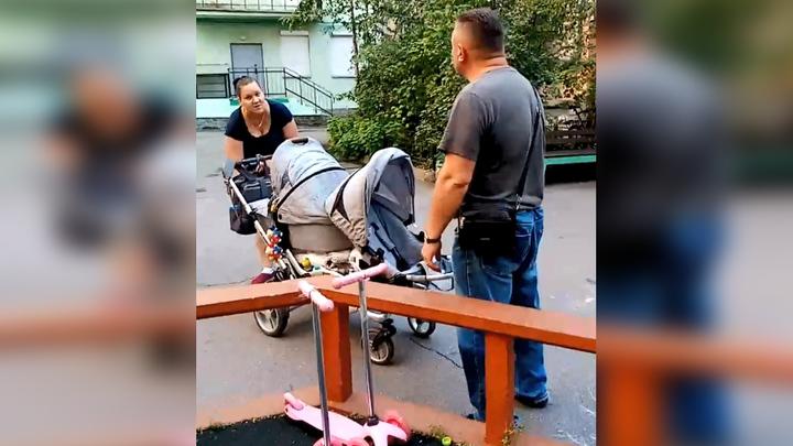 """""""Зубы выбью и глаза выдавлю"""": петербуржцы прогнали мам и детей со своего двора"""