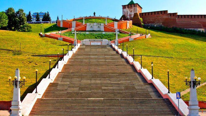 Чкаловскую лестницу в Нижнем Новгороде откроют 1 августа