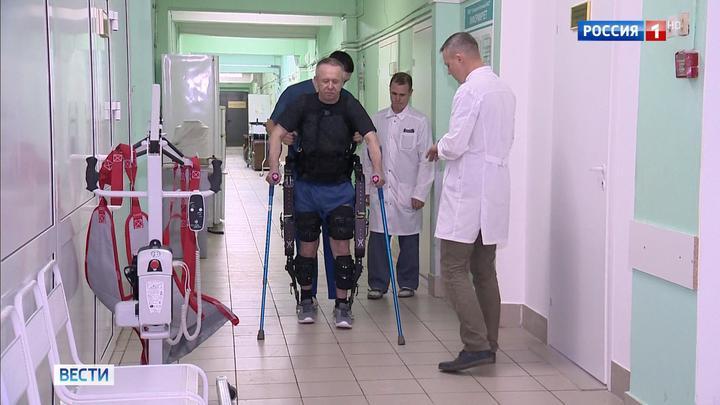 Ученые из Нижнего Новгорода начали клинические испытания новейшего экзоскелета