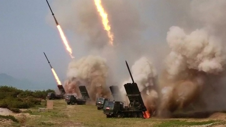 Северная Корея провела новые ракетные пуски