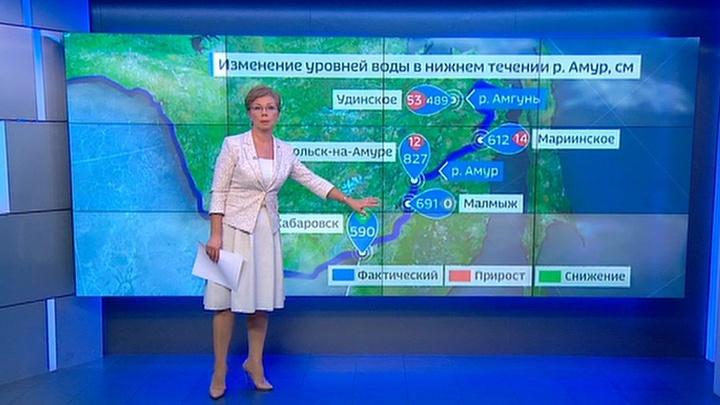 """""""Погода 24"""": циклоны терзают тонущий Комсомольск-на-Амуре"""