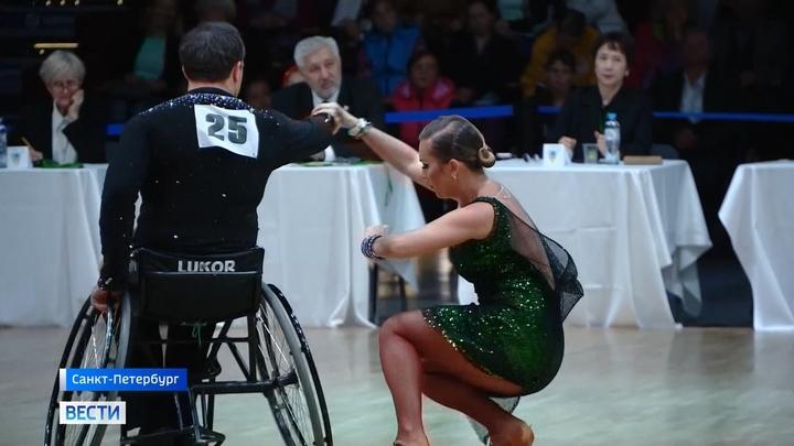 В Петербурге прошел Кубок континентов по танцам на колясках