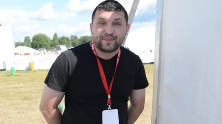 """Лидер группы """"АнимациЯ"""" Константин Кулясов"""