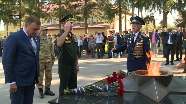 Золотов открыл в Туле мемориал сотрудникам, погибшим при исполнении служебного долга