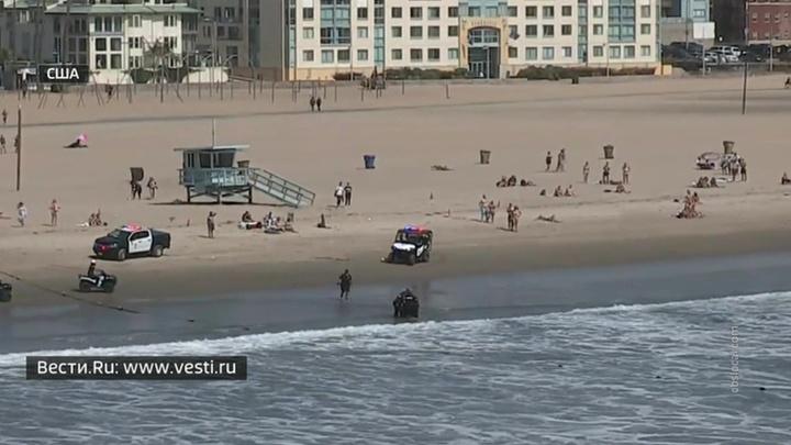 Американские полицейские устроили красочную погоню за вором