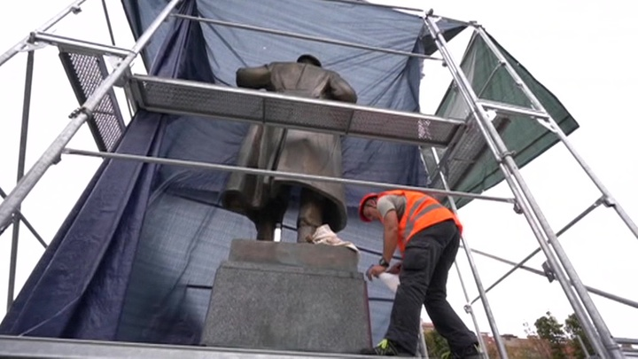 Район Прага-6: памятник маршалу Коневу перенесут в музей