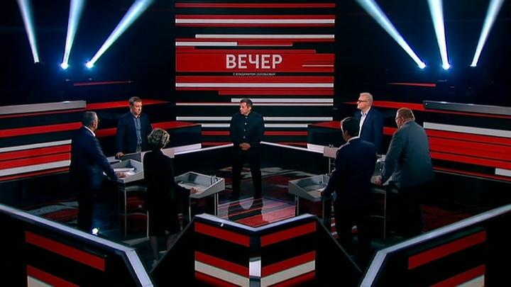 Вечер с Владимиром Соловьевым. Эфир от 13 сентября 2019 года