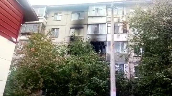 Пожар в Красноярске унес жизни 8 человек