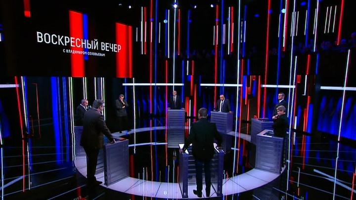 Вечер с Владимиром Соловьевым. Эфир от 16 сентября 2019 года