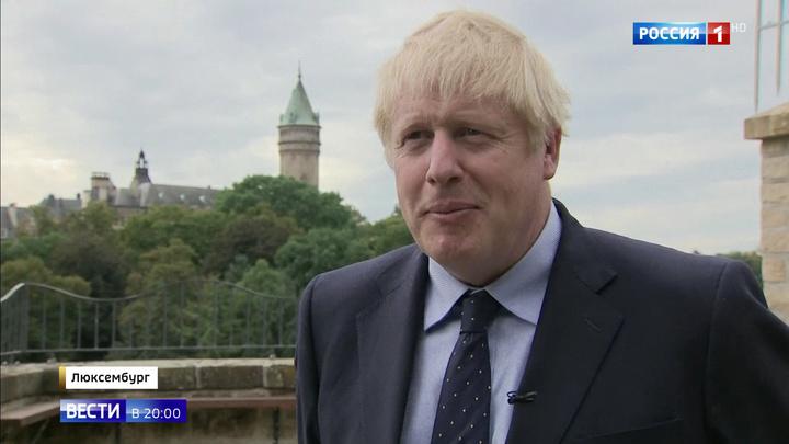 """""""Сплошная ложь!"""" В Люксембурге Джонсона освистали"""