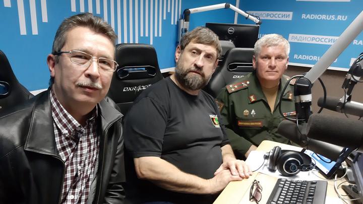 """Военный историк Андрей Шагов в студии """"Радио России"""""""