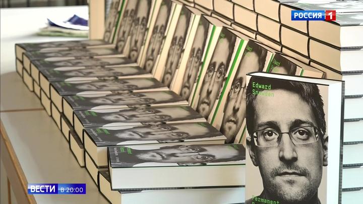 """""""Личное дело"""": Сноуден издал мемуары"""