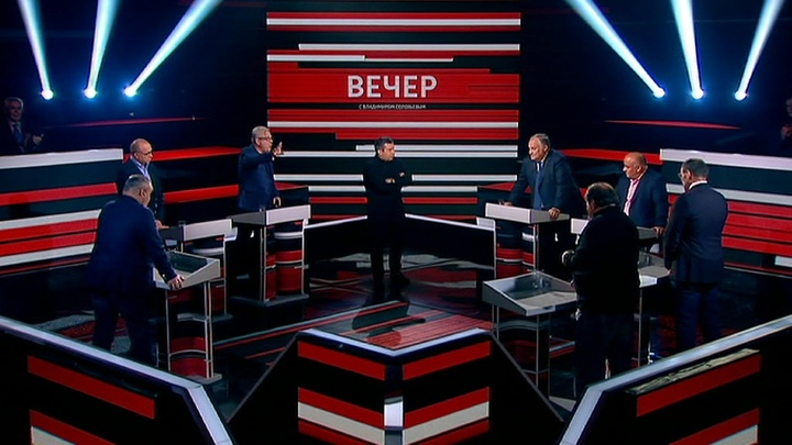 Вечер с Владимиром Соловьевым. Эфир от 18 сентября 2019 года