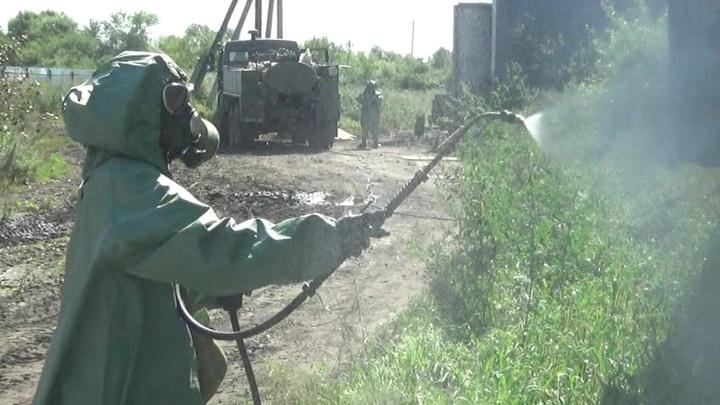 Военные завершили дезинфекцию пострадавших от паводка населенных пунктов Приамурья