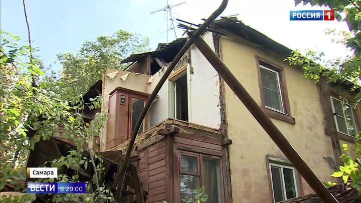 На Поволжье и Урал обрушился ураган