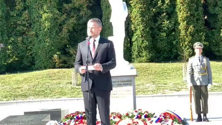 Петер Пеллегрини напомнил о роли Красной Армии в освобождении Словакии