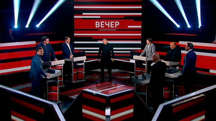 Вечер с Владимиром Соловьевым. Эфир от 24 сентября 2019 года