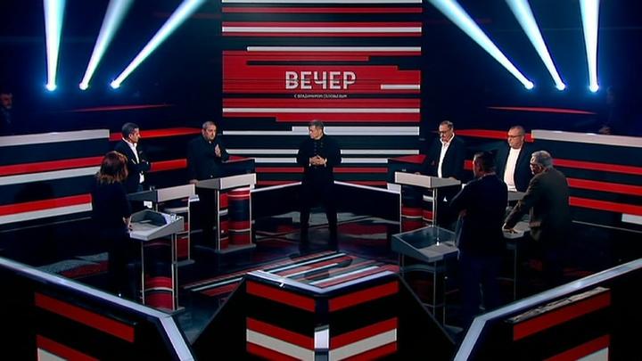 Вечер с Владимиром Соловьевым. Эфир от 25 сентября 2019 года