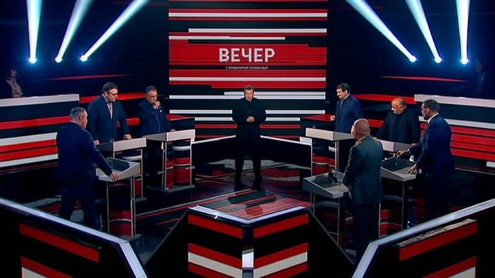 Вечер с Владимиром Соловьевым. Эфир от 27 сентября 2019 года