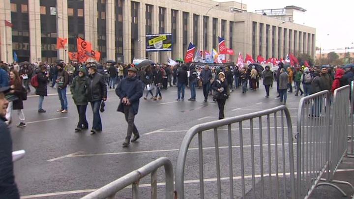 Кабмин не поддержал проект о наказании за вовлечение в митинги