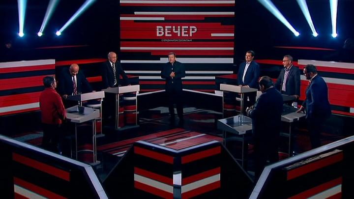 Вечер с Владимиром Соловьевым. Эфир от 1 октября 2019 года