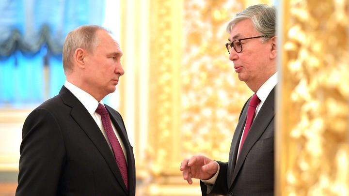 Путин и Токаев обменялись соболезнованиями