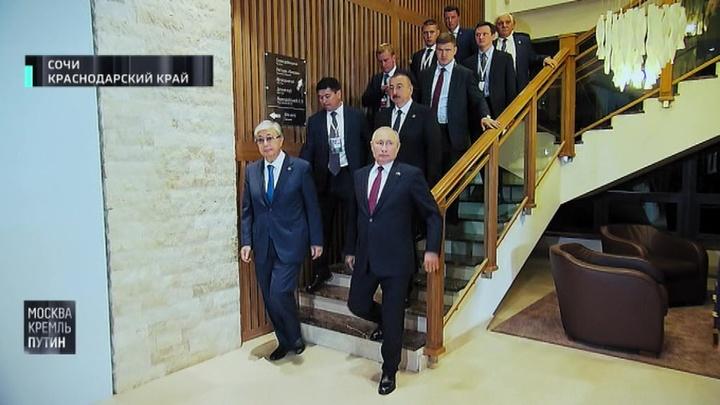 Москва. Кремль. Путин. Эфир от 7 октября 2019 года